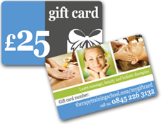 massage course gift cards