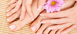 manicure pedicure  home learning course